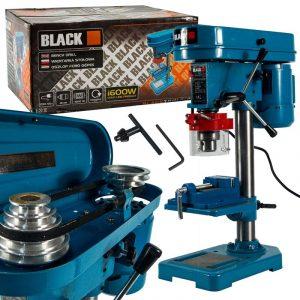 Black oszlopos fúró 1600W doboz és tartalma