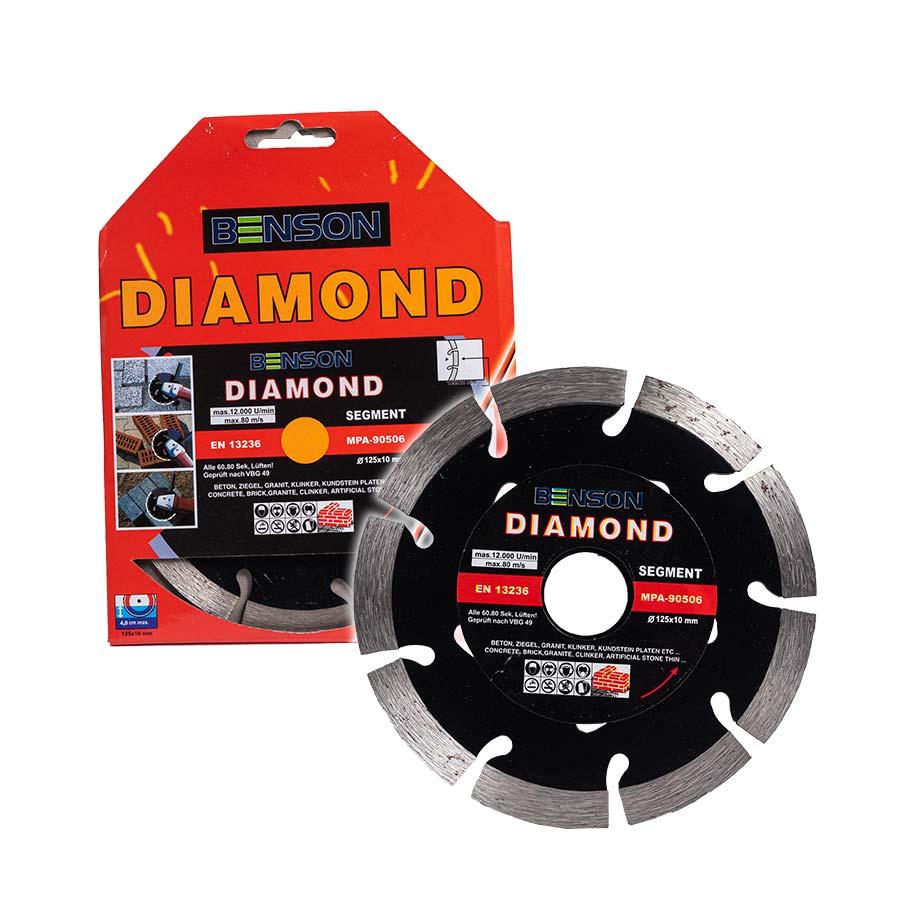 Black benson gyemanttarcsa 125mm 41001 4